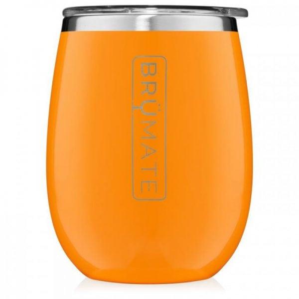 Brumate Uncorkd Xl 14 oz Wine Tumbler Hunter Orange