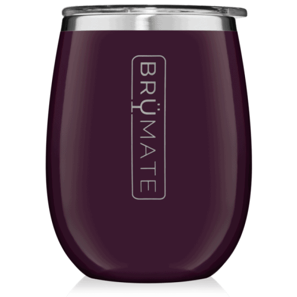 Brumate Uncorkd Xl 14 oz Wine Tumbler Plum