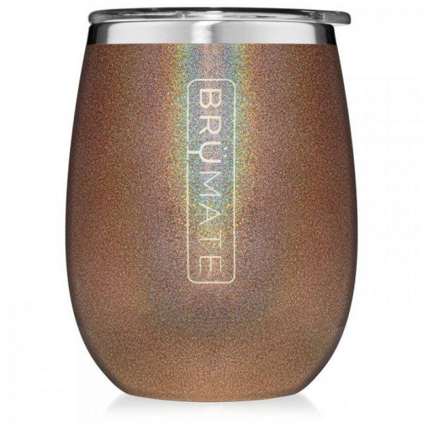 Brumate Uncorkd Xl 14 oz Wine Tumbler Walnut